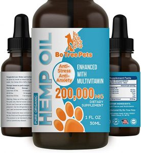 Relief oil for your pets. Helps with joint pain